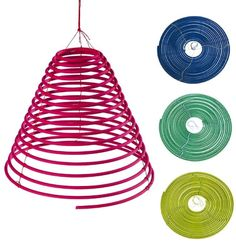 Citronella Spirals- Set of 4