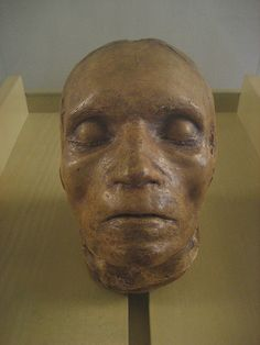 Beethovens death mask