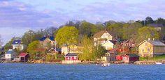 Pikisaari in Hirvensalo Turku, Finland.