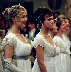 Pride and Prejudice.... love the story, love the actresses, love the movie