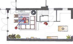 indeling u vormige woonkamer - Google zoeken