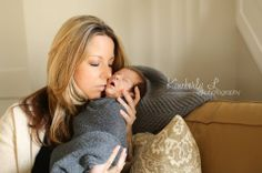 Lifestyle Newborn, new mom with baby boy
