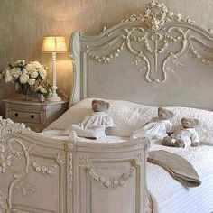 #headboard #white #bedroom #bed #whitebedroom #shabby #