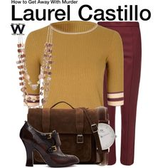 Inspired by Karla Souza as Laurel Castillo on How to Get Away With Murder.