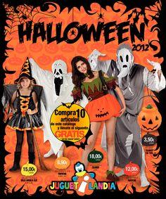 Ideas para Halloween de Juguetilandia http://www.ofertia.com/tiendas/juguetilandia