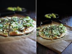 Fig, Caramelized Shallot, and Goat Cheese FlatBread | The Flourishing Foodie