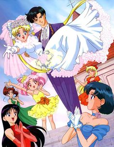 Usagi And Mamoru's Wedding
