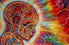 """A thousand half-loves must be forsaken to take one whole heart home.""  Mawlānā Jalālad-Dīn Rumi  Art by Alex Grey"