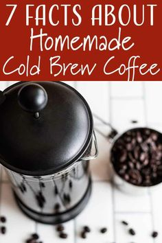 Have questions about making cold brew coffee at home? You've come to the right place! From what's the best kind of coffee to buy to ways to flavor your cold brew, we have answers for your most burning questions. Homemade Cold Brew Coffee, Best Cold Brew Coffee, Making Cold Brew Coffee, Iced Coffee, Coffee Shop, Coffee Lovers, Yummy Drinks, Healthy Drinks, Coffee Staining