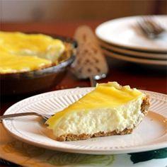 (Almost) No-Bake Lemon Cream Pie