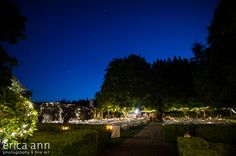 Newell House Complex under the stars by Erica Ann Photography