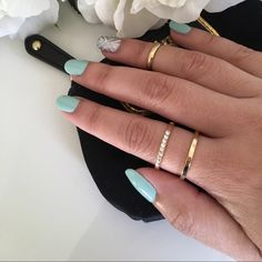 Rhinestone Gold Double Ring Beautiful, stylish and simple ring from Iconic Legend. Size 7. Two-in-one ring with a single layer of rhinestones. Looks adorable with the Sunahara midi ring I'm also selling! Iconic Legend Jewelry Rings
