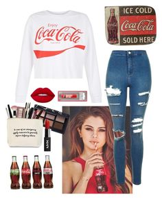 """""""Untitled #99"""" by corrre321 ❤ liked on Polyvore featuring New Look, Topshop, Lime Crime and NARS Cosmetics"""