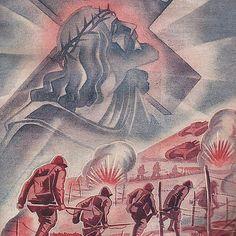 "Revista ""Armata"" 1943 (romanian army newspaper) - pin by Paolo Marzioli Ww2 Propaganda, Bucharest, Romania, Newspaper, Wwii, Army, Base, Pictures, Instagram"