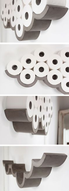 Never run out of toilet paper again. What a dream.