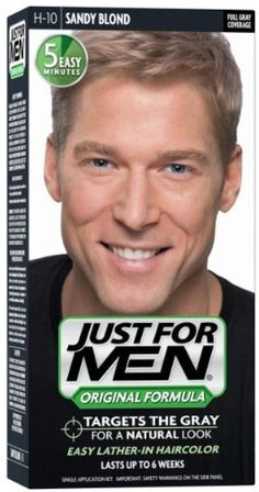 JUST FOR MEN Hair Color H-10 Sandy Blond 1 ea (Pack of 6) ** To view further for this item, visit the image link.