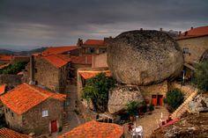 Beautiful Rock Village Monsanto, Portugal
