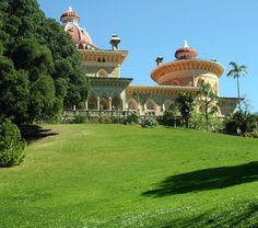 Poor conditions for surf so we went explore the Park and Palace of Monserrate in Sintra! ride351.com @visit