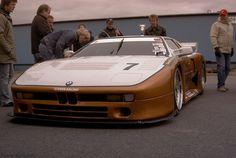 Der superschnellen Steber Racing BMW M1 GTR,