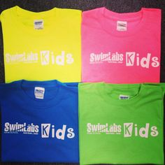Sign up your kids for swim lessons at #SwimLabs in Encinitas or Lake Forest and receive a free t-shirt!