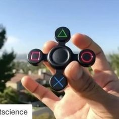 """Follow @top.fidgets for more spinner videos! Do you like this spinner? Answer """"I love it"""" in the comments. - via: @fidgetscience"""
