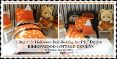 A personal favorite from my Etsy shop https://www.etsy.com/listing/248003778/pdf-pattern-little-halloween-bed-and