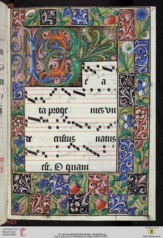 Universität Heidelberg - Cod. Sal. VIII,16 Processionale — Frankreich/ Burgund, 16. Jh.