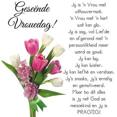 Geseënde Vrouedag! Prayer Quotes, Me Quotes, Womens Day Quotes, Afrikaanse Quotes, Special Quotes, Woman Quotes, Quote Of The Day, Texts, Prayers