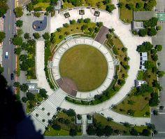 Xinyi District, Taipei, Taiwan 台灣 台北 Landscape Plaza, Landscape And Urbanism, Landscape Elements, Landscape Architecture Design, Urban Landscape, China Architecture, Architecture Plan, Ing Civil, Lanscape Design