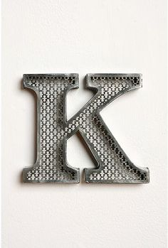 Etch letter. these look awesome! now. how to make one...jk-they're 10 bucks at Urban Outfitters