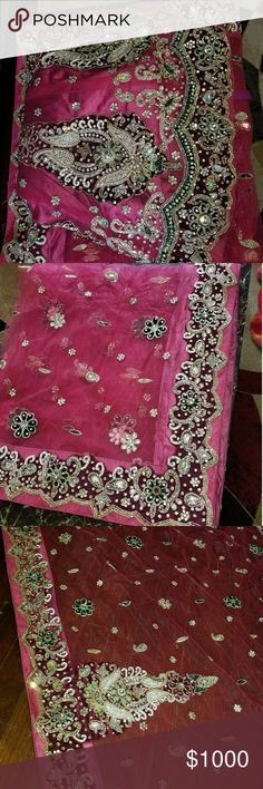 Bridal Lehenga Brand New Bridal lehenga with Dupatta and Blouse only worn once for about 2 Hours. Dresses Wedding