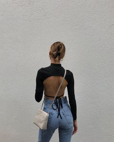 Jessica Alizzi p quot;new favourite bag via deadlyponies quot; Mode Outfits, Trendy Outfits, Fashion Outfits, Womens Fashion, Fashion Trends, Denim Outfits, Girly Outfits, Fashion Ideas, Fashion Tips