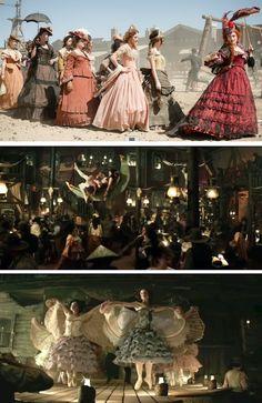The Saloon Girls from 'Lone Ranger' (2013). Costume Designer: Penny Rose.