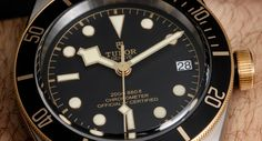 Tudor Heritage Black Bay S&G 79733N Two-Tone Watch Hands-On Hands-On