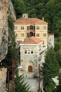 Lebanon, Kozhaya valley -The Monastary by elkhoury.charles, via Flickr Old House Design, Baalbek, Beirut Lebanon, Castle House, Old Churches, Beautiful Sites, Asia Travel, Night Life, Around The Worlds