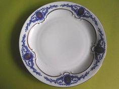Porcelanowy talerzyk deserowy ECHT KOBALT