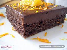Ako volite čokoladu i naranče svidjet će vam se i ovaj kolač...