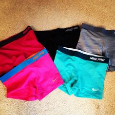 You can NEVER be obsessed with Nike Pro spandex!