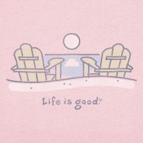 #Lifeisgood#DoWhatYouLike  Beach Adirondacks - Sitting on the beach is one of my favorite places to be!