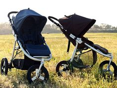 Strollers on vacation? Sort of ... these Bumbleride's weigh only 20 lbs.