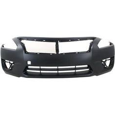 Front Bumper Cover For 2007-2009 Nissan Altima Sedan w// fog lamp holes Primed