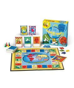 {Around the World Game by GeoToys} Just ordered this on Zulily. Has anyone played it? Looks cool!