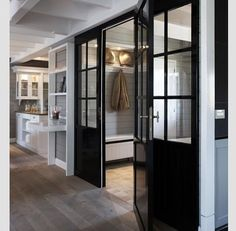 Mudroom by the Garage
