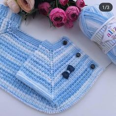 Let your evening # fate # be friends. # # Knitting # continue # # # string # # alizebabybestbatik # skewers # # 75 # I started to sew # … – kinder mode Baby Knitting Patterns, Hand Knitting, Crochet Patterns, Crochet For Kids, Crochet Baby, Free Crochet, Knit Crochet, Knitted Baby Clothes, Knitted Hats