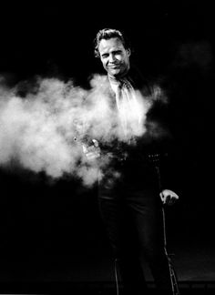 Marlon Brando photographed by Sam Shaw during the filming of One Eyed Jacks.