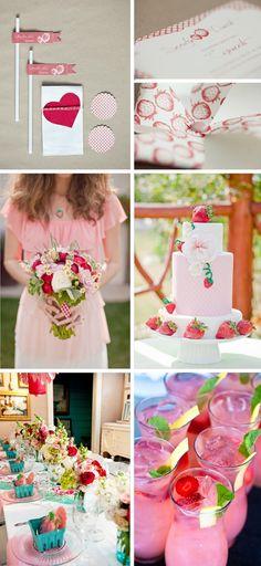 strawberry weddings