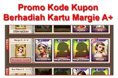 Tutorial Android Indonesia: Promo Kode Kupon Line Get Rich : Gratis Kartu Marg...