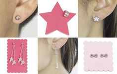 Cómo combinar colgantes y pendientes Drop Earrings, Jewelry, Fashion, Spring Summer 2016, Color Combinations, Earrings, Pendants, Bangle Bracelets, Accessories