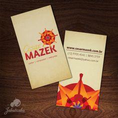Identdade Visual + Cartão de Visitas - Cesar Mazek || https://soundcloud.com/cesar-mazek-mazek
