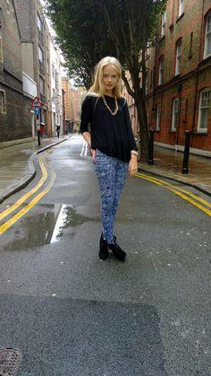Charlie Newman ¦ London Fashion Week ¦ Models Off Duty Style